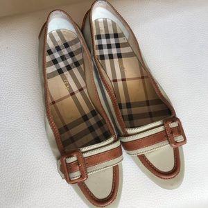Women's BURBERRY Flats Size38.5
